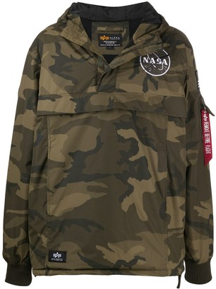 Alpha Industries Camouflage Sport Jacket