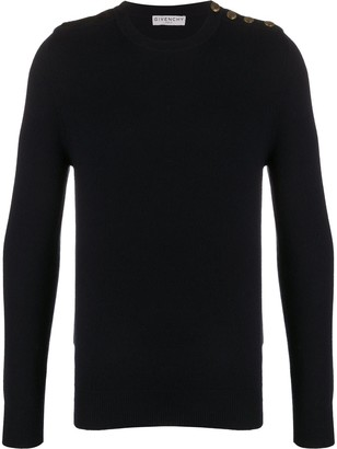 Givenchy Button Detail Jumper