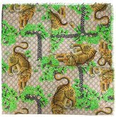 Gucci Bengal printed scarf - women - Silk/Modal - One Size