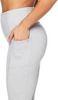 Gaiam Women's Capris GREY - Heather Gray High-Waist Pocket Om Relax 22'' Capri Leggings - Women
