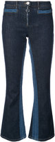 Courreges flared crop jeans