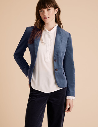 Marks and Spencer Cotton Cord Hacking Blazer
