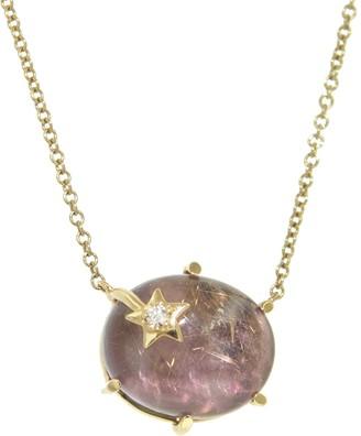 Andrea Fohrman Mini Galaxy Rose de France Rose Gold Necklace