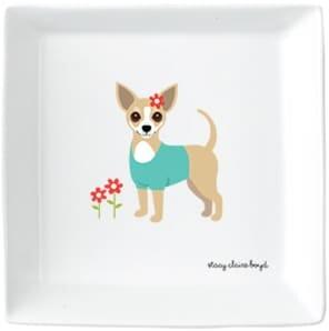Jenny Blanc - Chihuahua Ceramic Trinket Tray