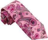 Asstd National Brand Susan G. Komen Print Paisley Tie