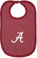 Baby Two Feet Ahead Alabama Crimson Tide Pin Dot Bib