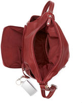 Bernini Giani Handbag, Pebble Leather Side Pocket Hobo