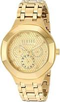 Versus By Versace Women's 'LAGUNA CITY' Quartz Tone and Plated Casual Watch(Model: VSP360517)