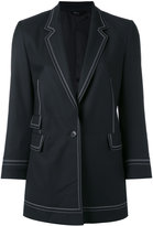 Paul Smith embroidered trim blazer - women - Cupro/Wool - 40