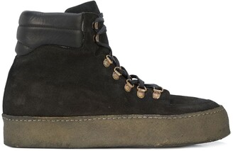 Guidi Platform Sole Boots