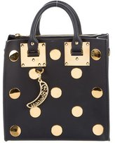 Sophie Hulme Polka-Dot Albion Leather Tote