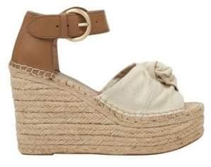 Marc Fisher Anty Platform Wedge Espadrille Sandals
