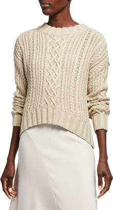 SIR the Label Kiri Cable-Knit Sweater