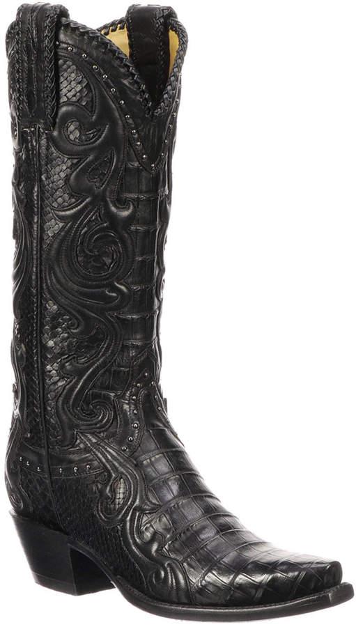 29a658be52a Sheridan Python Cowboy Boots