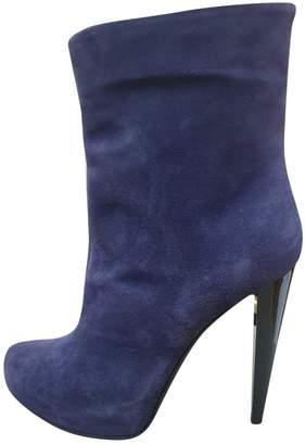 Iceberg \N Purple Suede Boots