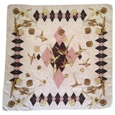 Givenchy Pink Silk Scarf