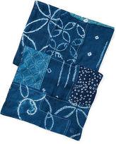 Polo Ralph Lauren Shibori Patchwork Linen Scarf