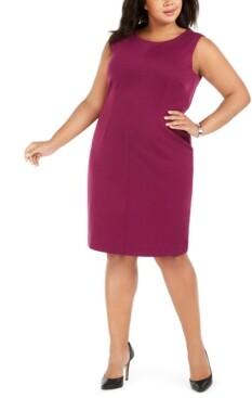 Nine West Plus Size Sheath Dress