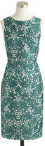 J.Crew Collection silk shantung dress in photo lace
