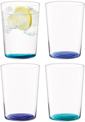 LSA International Coro Assorted Tumblers - Set of 4 - Lagoon - Large