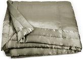 Donna Karan Home Moss Full/Queen Silk Quilt