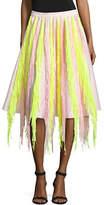 Paskal Flared Fringe Skirt