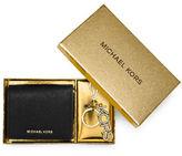 MICHAEL Michael Kors Wallet & Key Chain Box Set