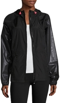 Betsey Johnson Embossed Windbreaker Jacket