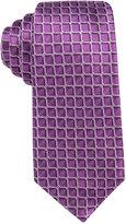 Alfani Men's Leonard Grid Slim Tie, Only at Macy's