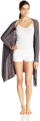 Ahh By Rhonda Shear Women's Plus Size Sexy Snuggle Knit Shrug