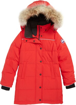 Canada Goose Juniper Down Parka with Genuine Coyote Fur Trim