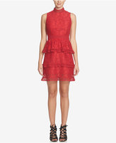 CeCe Brea Tiered Lace Dress
