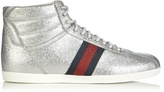 Gucci Bambi glitter high-top trainers