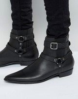 Religion Belter Leather Boots