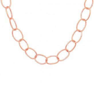 Lily Flo Jewellery 9K Cherish Oval Chain Rose Gold Necklace