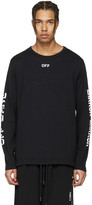 Off-White Black Quotes T-shirt