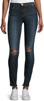 Frame Le Skinny De Jeanne Raw-Edge Jeans, King's Imperial