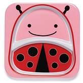 Skip Hop Zoo Divided Plate, Ladybug/Pink