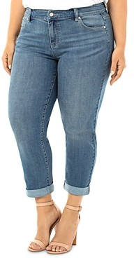 Liverpool Los Angeles Plus Peyton Slim-Leg Boyfriend Jeans in Ocala