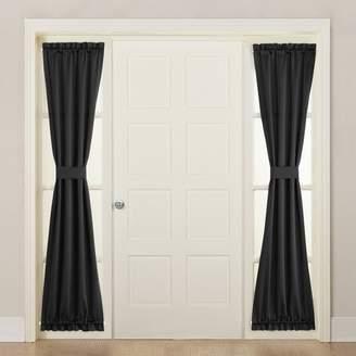 "Sun Zero Seymour Energy Efficient Sidelight Curtain Panel (26""x72"")"