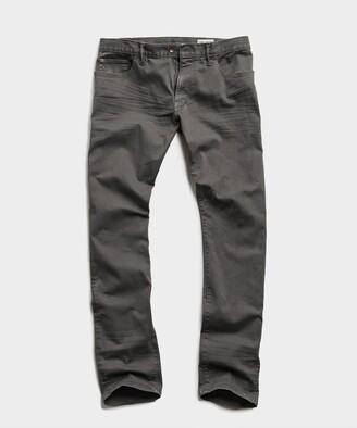 Todd Snyder Straight Fit 5-Pocket Chino In Dark Granite