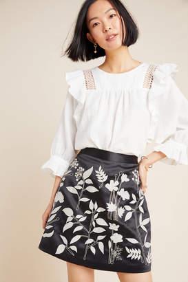 Payal Pratap Felicita Embroidered Mini Skirt