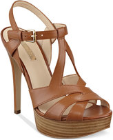 GUESS Women's Kymma Strappy Platform Dress Sandals