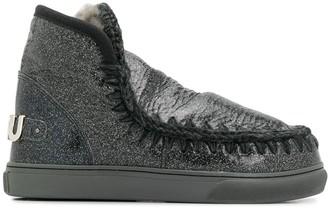 Mou Eskim metallic boots