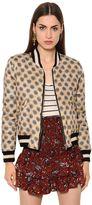 Etoile Isabel Marant Embroidered Printed Cotton Bomber Jacket