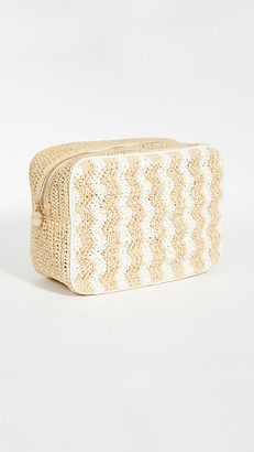 Stoney Clover Lane Woven Large Pouch