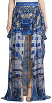 Camilla Short Skirt w/Full Overlay, Rhythm & Blues