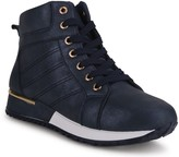 Wanted Lace-Up High-Top Fashion Sneakers - Bronx
