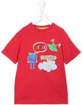 Fendi robot print T-shirt - kids - Cotton - 3 yrs