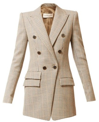 Alexandre Vauthier Double-breasted Wool-tweed Jacket - Grey Multi